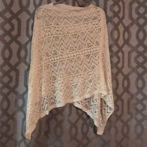 Sweaters - Crocheted Poncho